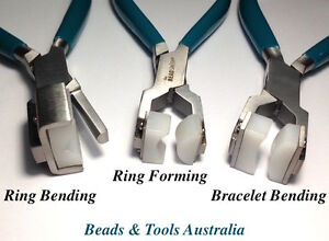 Beadsmith Nylon Jaw Pliers - Ring Forming - Bracelet Bending - Ring Holding