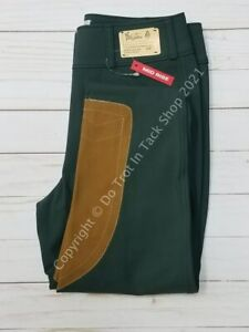 Tailored Sportsman Ladies Vintage Trophy Hunter - Front Zip Mid-Rise - Black For