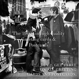 15. I Was Lord Kitchener's Valet 1965. 1960s Greeting Card. Carnaby Street