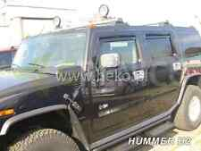 HUMMER H2 5-portes Deflecteurs de vent 4-pièces HEKO Bulles