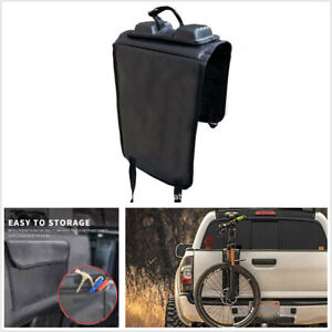 Portable Tailgate Pad Shuttle Pad Protective Bike Rack w/ Strap For Pickup Truck