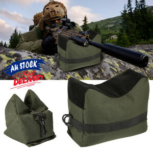 Target Hunting Shooting Range Sand Bag Set Rifle Gun Rest Stand Pack Tactical