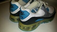 RARE🔥 Nike Air Max 1 360 LE Black Leather  Silver Blue MEN'S  8.5