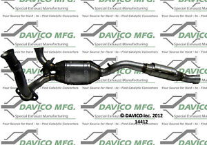 Catalytic Converter-Exact-Fit Davico Exc CA 14412