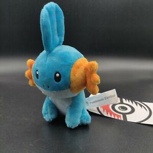 "Pokemon Center Plush Mudkip Pokedoll 5"" Sitting Cuties Pocket Monsters"