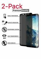 Privacy Screen protector 3D Tempered Glass For Samsung Galaxy S8 S9 Plus Note 9