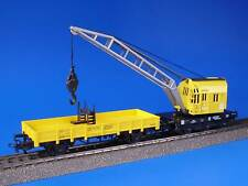 MARKLIN H0 - 4671 - Crane Car + Flat Wagon /-/ LN