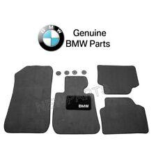 BMW E90 E91 325i 328i 330i Front and Rear Black Floor Carpeted Mat Set Genuine