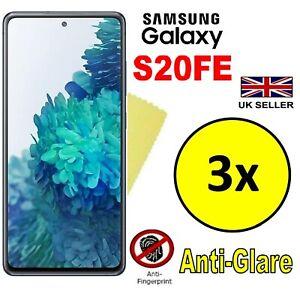 3x HQ MATTE ANTI GLARE SCREEN PROTECTOR COVER GUARD FOR SAMSUNG GALAXY S20FE 5G