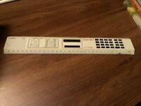 Vintage - Technico RC124 Solar Ruler Calculator Light Powered