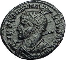 CONSTANTINE I the GREAT 318AD Siscia Victory Altar Ancient Roman Coin i57921