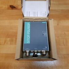 Siemens 6EP1334-7CA00 Power Supply, Out: 24VDC/8A, In: 120-230VAC/3.6-1.6A, 60Hz