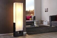 Exclusivo Diseño Lámpara de pie Lámpara Blanco Negro Látex 120cm