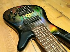 More details for spector pro q6 holoflash (holographic) 6 string bass guitar (2003)