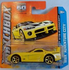Matchbox (2013) DODGE VIPER GTS-R - #29/120 - 1/64 Scale - YELLOW PAINT