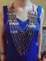 Vintage Necklace,Kuchi Jewelry,Kuchi Necklace,Afghan kochi Tribe,collectible