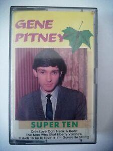 TAPE MC KASSETTE GENE PITNEY SUPER TEN