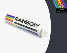 Slate Grey Colour Silicone Sealant Rainbow 310ml RAL 7015 Indoor & Outdoor use
