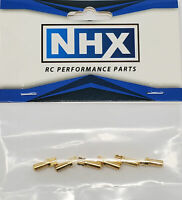 NHX 3.5mm Gold Plated Bullet Adapter Connector Male 6Pcs/Bag