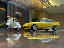 Porsche 911 2.7 RS F-model (1973) Concours d'elegance MEGA SCHÖN in 1:18 UMBAU