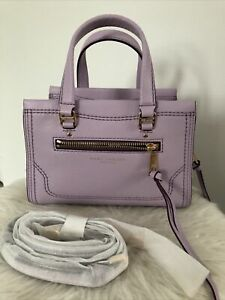 $375. New Marc Jacobs Satchel Crossbody Bag Fair Orchid Color Beautiful Bag