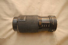 KINO 80-200mm f4.5 Manual Focus Macro Zoom, KONICA Mount