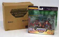 MOTU Classics Minis Zodac & Beast Man Masters of the Universe New