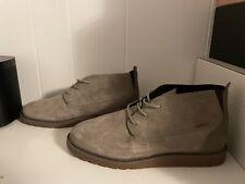 New Reef Voyage Chukka Style Boot Men 12 Khaki Leather  RF0A3626 NWOB