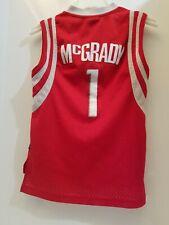 85c4ce92ed8 Houston Rockets Tracy McGrady  1 NBA ADIDAS Youth Small Length +2 SEWN  Jersey
