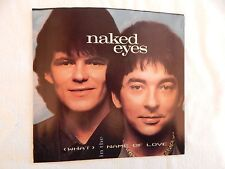 "NAKED EYES ""WHAT IN THE NAME OF LOVE"" PICTURE SLEEVE! NEW! ONLY NEW COPY ON eBAY"