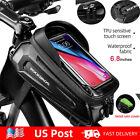 ROCKBROS Cycling Front Top Tube Frame Bag Hard Shell MTB Road Bike Bags Phone