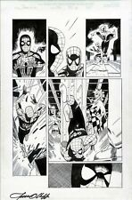 SPIDERGIRL #36 SPIDERMAN ORIGINAL ART PAGE OLLIFFE AL WILLIAMSON MARVEL COMICS
