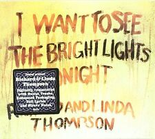 Richard Thompson - I Want to See the Bright Lights Tonight [CD]