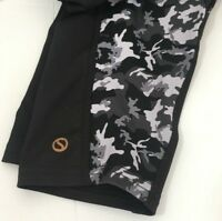 Black Leggings Womens size Large Shape Activewear Caviar Camo