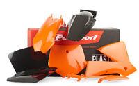 POLISPORT KIT PLASTICHE COMPLETE MX CROSS ENDURO ARANCIONE KTM 250 SX 2001-2002