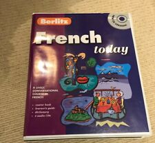 BERLITZ FRENCH TODAY CD VERSION FRENCH TUTORIAL. LEARN TO SPEAK FRENCH