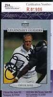 CHUCK NOLL JSA COA Autographed 1997 UPPER DECK Authentic Hand Signed STEELERS