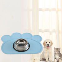 Pet Silicone Non-slip Placemat Dog Cat Cloud Shape Feeding Mat for Food or Water