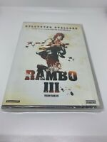 Rambo III (DVD French and English Edition) Brand New And Sealed Movie