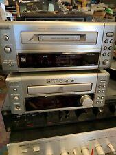 vintage set  DENON UD-M30  Receiver FM/AM Tuner CD Minidisc DMD-M10 no remote