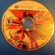 Bakugan Battle Brawlers (Microsoft Xbox 360, 2009) DISC ONLY 5794
