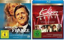 3 Blu-rays * MONACO FRANZE + KIR ROYAL  IM SET - Helmut Fischer # NEU OVP%