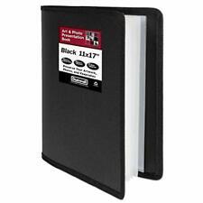 Dunwell Art Portfolio 11x17 Black Large Portfolio Folder Assorted Colors