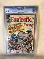 Fantastic Four #28 1964 Marvel Comics CGC Graded 5.0