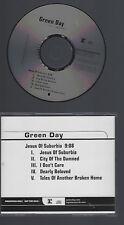 "GREEN DAY ""Jesus Of Suburbia"" US CD Promo 2005"