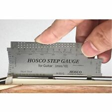 HOSCO Step Gauge Guitar Bass Multi Measurement Tool Stainless Steel