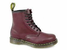 c4db7dfe1 Dr. Martens 1460 Cherry Red Eye Classic Smooth Leather BOOTS With Air Wair  Sole UK