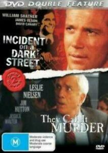 They Call It Murder DVD + Incident on a Dark Street (1973) DOUBLE MOVIE