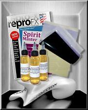 5x USA Spirit Master Matritzenpapier ★3in1★ + 30 ml Abzugsflüssigkeit Tattoo Set