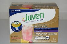 Box of Thirty (30) Packets of Fruit Punch Flavored Juven
